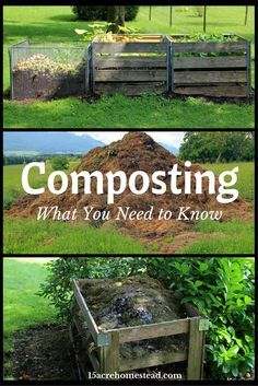 How to get started composting.