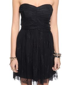 cuteeee Strapless Lace Dress | FOREVER21 - 2002928893