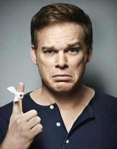 Michael C. Hall. Now, I don't watch Dexter but this is brilliant!