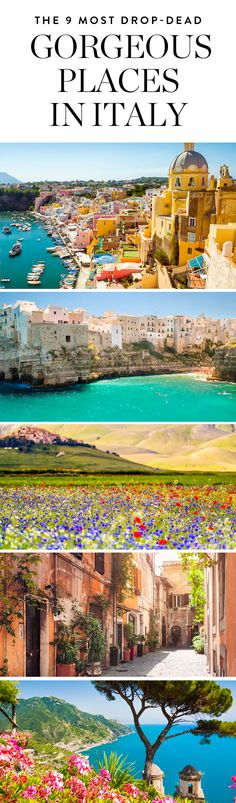 Discover the most drop-dead gorgeous places inItaly and get the best inspiration for your next trip.