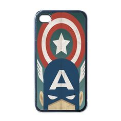 iPhone 4 Case Vintage Captain America Apple iPhone by FirdausCase, $15.99