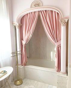 bathtub goal Home Decor Dream Bathrooms, Dream Rooms, Dream Bedroom, Rich Girl Bedroom, My New Room, My Room, Princess Bathroom, Deco Rose, Aesthetic Rooms