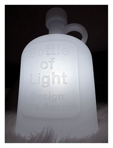 Bottle of Light by Eero Aarnio