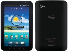 Samsung Galaxy Tab Verizon 3G Android 7in PC Tablet On Sale For $139.99