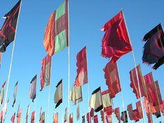 Glastonbury Flags.