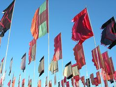Glastonbury Flags.