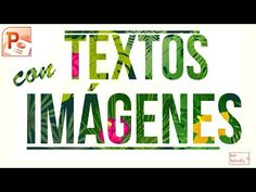 Letras con imagenes dentro (FACIL) en menos de 2 minutos || Sin Photoshop - YouTube School Plan, Photoshop, Presentation Design, Helpful Hints, Classroom, Social Media, App, Lettering, Marketing