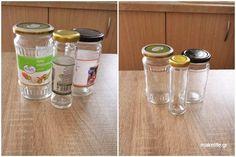 Πως βγάζω τις ετικέτες από βάζα γυάλινα και μπουκάλια Better Homes, Cleaning Hacks, Mason Jars, Mason Jar, Glass Jars, Jars