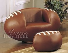 Furniture for a Football Bedroom Theme