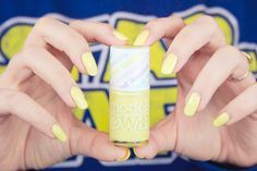 ! Mademoiselle Nostalgeek: [NOTD] Models Own Banana Split