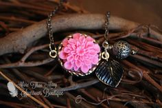 Pink with an Edge by Katherine on Etsy