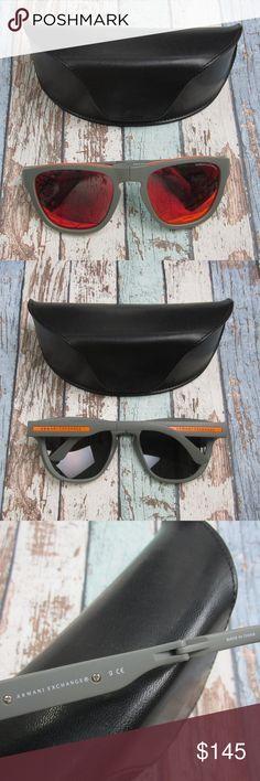 d2209ff733e9 Armani Exchange AX4012 Folding Sunglasses OLN413 Armani Exchange AX4012 8015  6Q Folding Sunglasses Lens