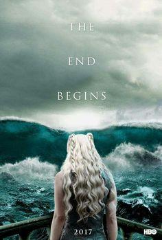 Game of Thrones -Season 7 teaser poster Game Of Thrones Poster, Game Of Thrones Series, Game Of Thrones Fans, Valar Dohaeris, Valar Morghulis, Khal Drogo, Winter Is Here, Winter Is Coming, Khaleesi