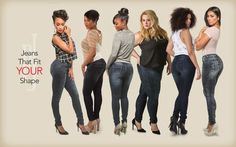 Comfortable and sexy jeans that love your curves as much as you do.