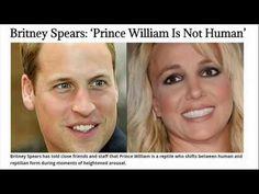 El príncipe William no es humano (Britney Spears)