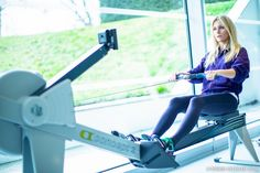 A post on the benefits of Rowing, wearing head-to-toe adidas​ by Stella McCartney​,  shot in the beautiful gym of Coworth Park Hotel, Ascot​
