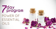 Power of Essential Oils - 7 Day free Online program==>