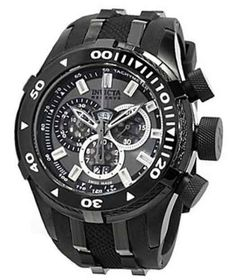 Invicta Reserve Bolt II Charcoal Dial Chronograph Mens Watch 0979 Invicta. $231.44. Save 85%!