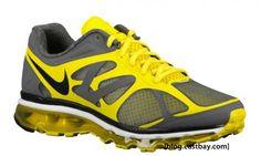 Nike Air Max 2012 – Dark Grey/Chrome Yellow