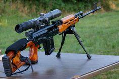 PSL 7.62X54R Sniper-Rifle.