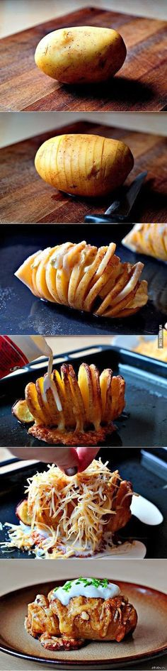 How To The perfect baked potato