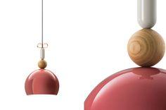 Bon Ton suspension lamps inspired by pendant earrings #furniturehunters