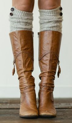 Love the boot socks and boot color but not the side tassels