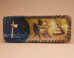 "Mission Del Rey Southwest - Southwestern Painted Wooden Bowl 20"" -Elks, $79.95 (http://www.missiondelrey.com/southwestern-painted-wooden-bowl-20-elks-pb36/)"