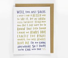 Cancer survivor creates empathy cards that patients would actually want to get