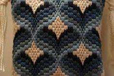 Resultado de imagen de bargello embroidery
