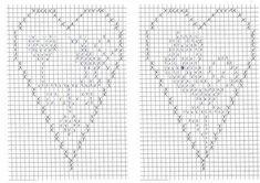 New Crochet Heart Pattern Free Cross Stitch Ideas Crochet Baby Blanket Borders, Crochet Baby Blanket Tutorial, Crochet Keychain Pattern, Crochet Granny Square Afghan, Crochet Beanie Pattern, Afghan Crochet Patterns, Christmas Embroidery Patterns, Embroidery Hearts, Cross Stitch Designs