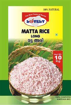 Lovely - Food Products - pickles, frozen porottas, matta rice Matta rice