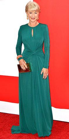 Vestidos Elie Saab, Vestidos Oscar, Elie Saab Gowns, Helen Mirren, 60 Fashion, Modest Fashion, Dame Helen, Oscar Dresses, Glamour
