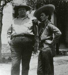 Frida Kahlo y Diego Rivera Hermosa foto