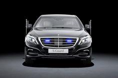 Deutsche Bank: Mercedes S600 V12 Guard