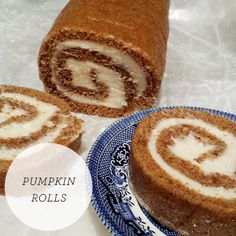 Pumpkin Rolls - Thanksgiving food #thanksgiving #food #foods #pie #pies #cake #cakes #holiday #holidays #dinner #snacks #dessert #desserts #turkey #turkeys #comfortfood #yum #diy #party #great #partyideas #family #familytime #gmichaelsalon #indianapolis #fun #pumpkin_rolls #unique #recipes www.gmichaelsalon.com