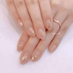 Simple Bridal Nails, Elegant Bridal Nails, Simple Elegant Nails, Elegant Nail Art, Elegant Nail Designs, Simple Nails, Nail Art Designs, Bridal Nail Art, Simple Elegant Wedding