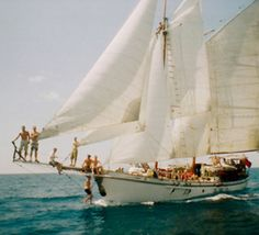"""Sailing through the Great Barrier Reef with 15 other teenagers. We were given control the ship on the day at sea!"" SOUNDS AMAZING CAN I GO OMG :( A Well Traveled Woman, Yacht Week, Sail Away, Set Sail, Tall Ships, Sailing Ships, Sailing Boat, Sailing Party, Sailing Theme"