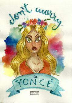 Desde quando vi o clipe da música Hymn of the Weekend do Coldplay com a Beyoncé, fiquei apaixonada pelo seu visual. Então, resolvi fazer um speed painting de aquarela em homenagem a esse clipe maravilhoso.   Assista: https://www.youtube.com/watch?v=ZqA0gQyDo3Q  #beyonce #lemonade #quote #frases #tipografia #typography #lettering #handlettering #tipografia #caligrafia #illustration #ilustra #ilustração #draw #desenho #drawing #diy #handmade #aquarela #watercolor #paint #coldplay #music #cover