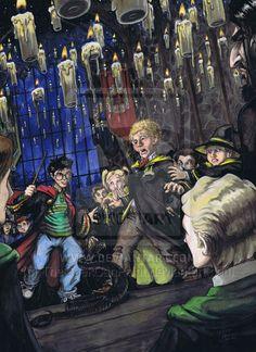 Harry Potter: Book 2, Ch.011 by TheGeekCanPaint on deviantART