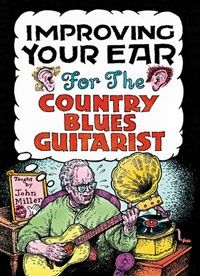 Improving Your Ear for Country Blues Guitarist - 2 DVD Set