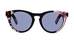 f9903365d2f Affordable Fashion Glasses Cat Eye Round Sunglasses Women Nola Rose Black  Front Prescription Sunglasses
