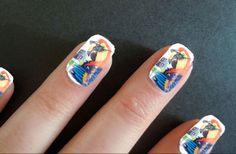 Jimmy Buffett Parrothead Margaritaville Photo Nails