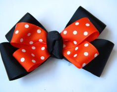 Boutique Halloween Hairbow