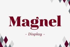 Hi guys! Have a nice weekend with the Family Display Typeface we bring you today! This is Magnel typeface designed by Eimantas Paškonis. It includes accented swashes, decorative ligatures and oldstyle numerals. The defining stylistic features are large x-height and asymmetric legs that give feminine, oriental, floral look. Check it out! You'll love it for sure!