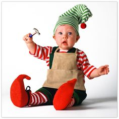 The Tom Arma Elf Costume.  This is so cute for a Christmas party!