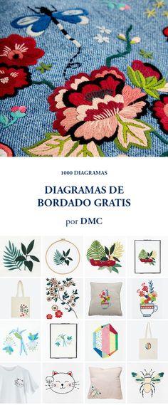DIAGRAMAS DE BORDADO GRATIS