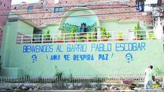 Quartier Pablo Escobar en 2003