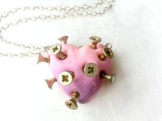 nailed heart necklace - Pesquisa Google