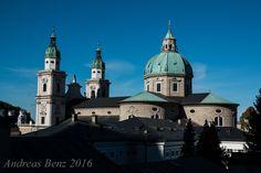 Österreich, Salzburg, Aussicht vom Mönchsberg